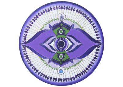 Mandala Sexto Chakra o Chakra del Tercer Ojo