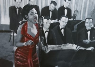 Billie Holiday- Exposición 7º Mostra d´art en femení